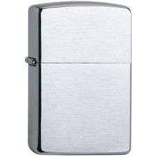 Zippo Classic Regular Chrome brushed inklusive Textgravur